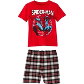 Marvel Toddler Boys Spider-Man Tee and Shorts 2 pc. Set