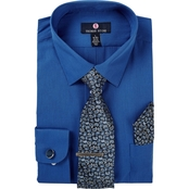 Thomas Stone Dress Shirt & Tie