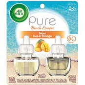 Air Wick Scented Oil Twin Refill Pure Maui Sweet Mango