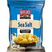 Boulder Canyon Sea Salt Kettle Cooked Potato Chips 2 oz. 8 pk.