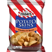 TGI Friday's Potato Skins Snack Chips Cheddar & Bacon 3 oz. 6 pk.