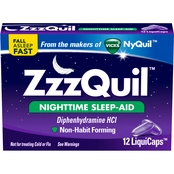 ZZZQuil Nighttime Sleep-Aid LiquiCaps 48 ct.