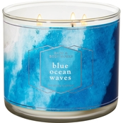 Bath & Body Works Blue Ocean Waves 3 Wick Candle