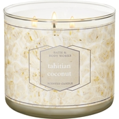 Bath & Body Works Tahitian Coconut 3 Wick Candle