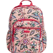 Vera Bradley Campus Backpack, Stitched Flowers