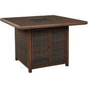 Ashley Paradise Trail Bar Table with Firepit