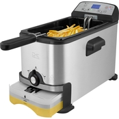 Deep Fryer with Oil Filtration