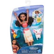 Disney Moana Spin & Swim Doll & Friends