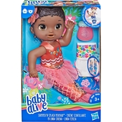 Baby Alive Shimmer 'n Splash Mermaid, Black Hair