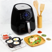 Digital Airfryer with Egg Poacher