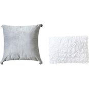 Sara B. Rhapsody Decorative 2 pc. Pillow Set