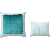 Sara B. Eucalyptus Decorative 2 pc. Pillow Set