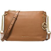 Michael Kors Lillie Leather Messenger Bag