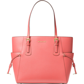 Michael Kors Voyager Small Crossgrain Leather Tote Bag