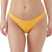 Damsel Juniors Yellow High Leg Swimsuit Bottom