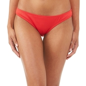 Damsel Juniors Sunsets Cherry Navy Hipster Swimsuit Bottom