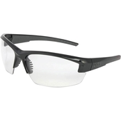 Honeywell Mercury Safety Eyewear with Black Frame, Clear Lens, Anti-Fog Lens