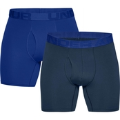 Under Armour Tech Mesh 6 in. Boxerjock 2 pk.