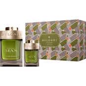 BVLGARI Man Wood Essence Eau de Parfum 2 pc. Set