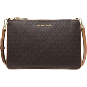Michael Kors Double Zip Crossbody