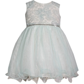 Bonnie Jean Infant Girls Lace Bodice Ballerina Dress