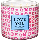 Bath & Body Works Love 3 Wick Candle