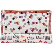 Allegro Dots and Lips Large Purse Kit