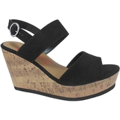 Jellypop Shoes Macky Wedge Sandals