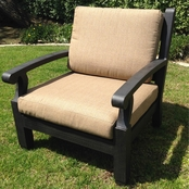 St. Lucia Club Chair with Cushion