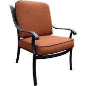 Summerville Furnishings Harmony Club Chair with Cushions