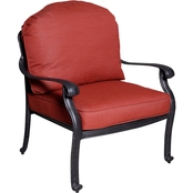 Summerville Furnishings Carrera Club Chair with Cushions