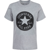 Converse Little Boys Chuck Taylor Script Cotton Tee