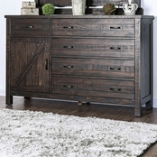 Furniture of America Brenna Espresso Dresser