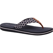 Tommy Hilfiger Women's Cargo Eva Fabric Thong Sandals