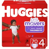 Huggies Little Movers Diapers Size Size 4 (22-37 lb.)