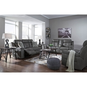 Signature Design by Ashley Jesolo Reclining Sofa, Loveseat and Recliner Set