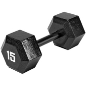 Marcy Hex Dumbbell 15 lb