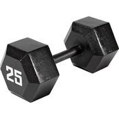 Marcy Eco Iron Hex Dumbbell 25 lb