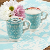 Pioneer Woman Melody Teacup Salt and Pepper Set