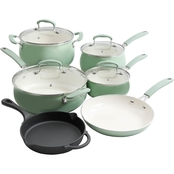 Pioneer Woman Classic Belly Gradient Cookware 10 pc. Set