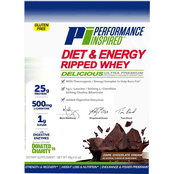 Performance Inspired Ripped Dark Chocolate Dream Whey Sample Size 12 pk.