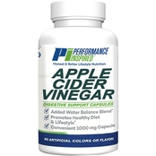 Performance Inspired Apple Cider Vinegar Capsules- 180 Count