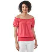 JW OTS Banded Bottom Tee