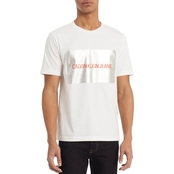 Clavin Klein Jeans Institutional Silver Box Tee