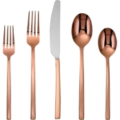 Cambridge Beacon Copper Mirror 20 pc. Flatware Set