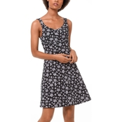 Michael Kors Wildflower Seamed Dress