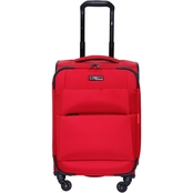 Revo Airborne 20 in. Softside Spinner Suitcase