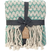 HOMEWEAR SHARAYAH 50X60 THROW - MINT