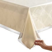 Benson Mills Clear Vinyl Tablecloth 52 x 70