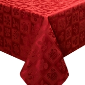 Benson Mills Christmas Melody Tablecloth
